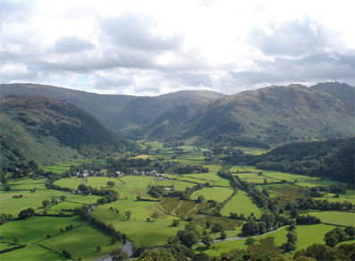 Borrowdale, courtesy of Claire Rowland